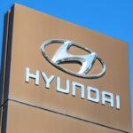 Hyundai dealership sign
