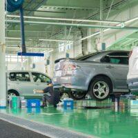 整備工場 自動車